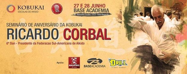 Sensei Corbal en Brasil
