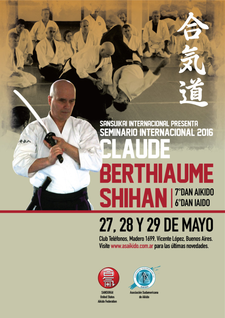 Claude Berthiaume - Seminario 2016