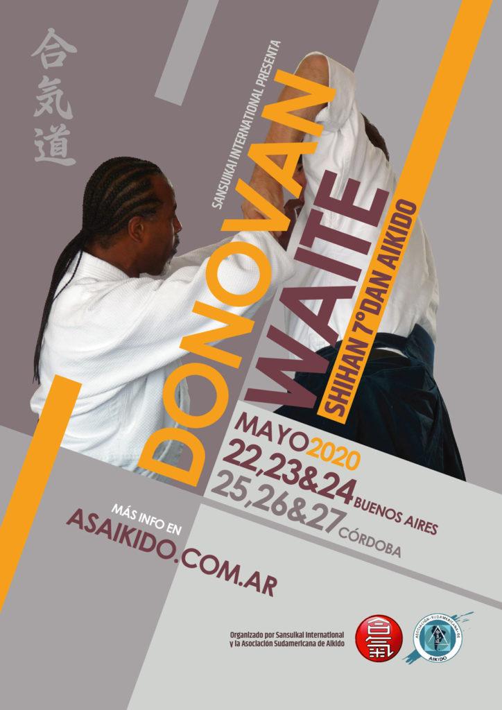 Afiche Donovan Waite 2020