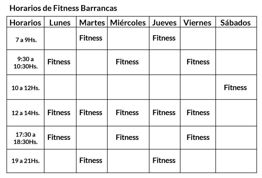 Fitness Barrancas