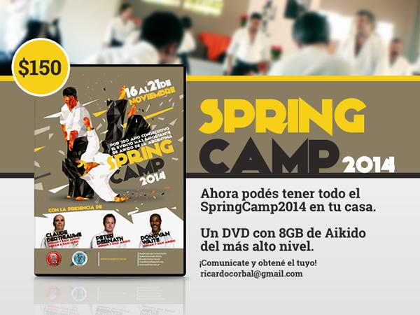 Imagen DVD Spring Camp 2014