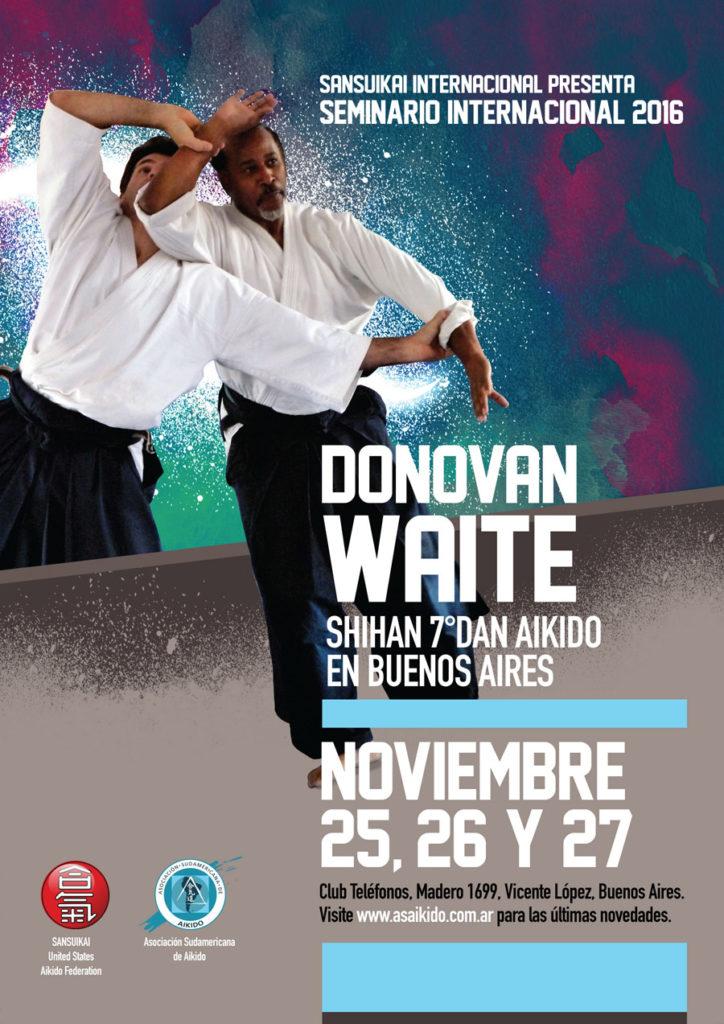 Donovan Waite 2016 Buenos Aires